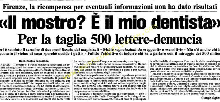 <b>20 Novembre 1985 Stampa: L'Unità</b>