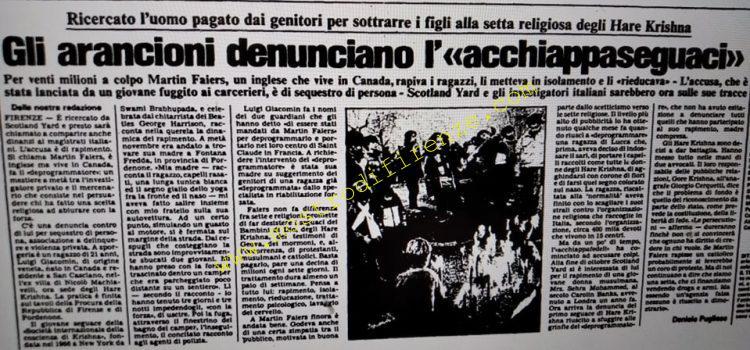 <b>28 Novembre 1985 Stampa: L'Unità</b>