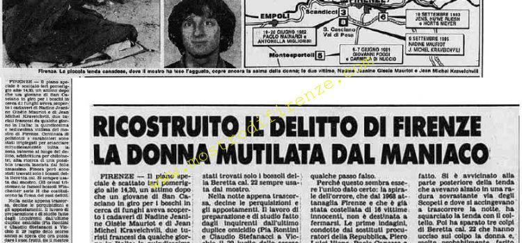 <b>10 Settembre 1985 Stampa: Stampa Sera</b>