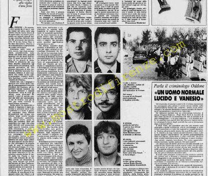 <b>11 Settembre 1985 Stampa: Stampa Sera</b>