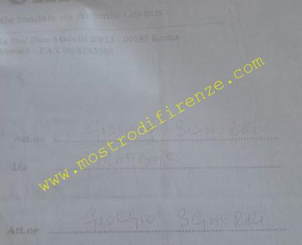 <b>21 Novembre 1999 L'Unità manda per fax la lettera anonima a Giorgio Sgherri</b>